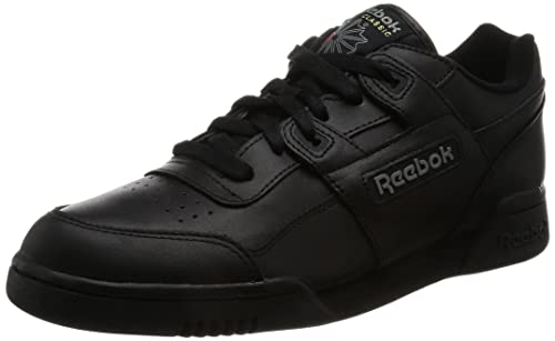Reebok Workout Plus, Men Training Running Shoes, Black (Black/Charcoal),