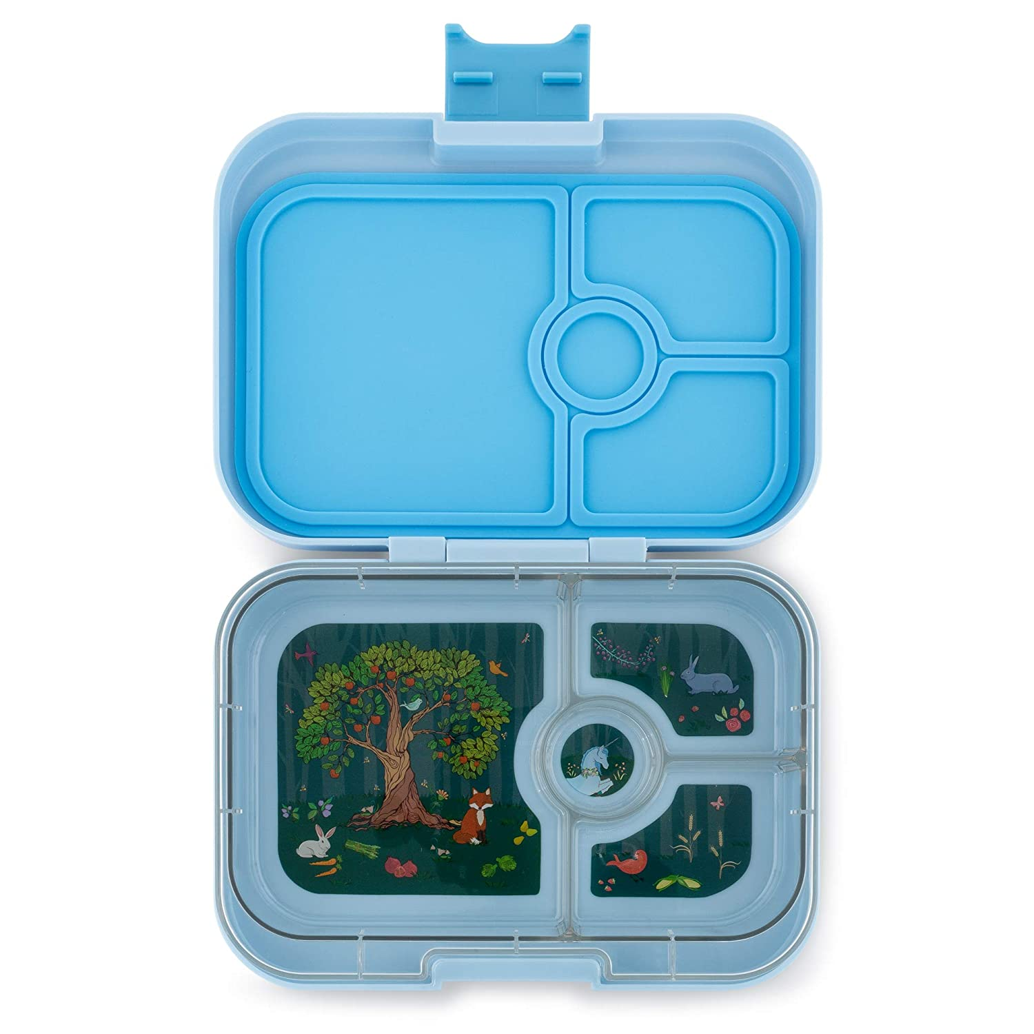Leakproof Bento Lunch Box Container for Kids /& Adults Luna Blue Yumbox Panino