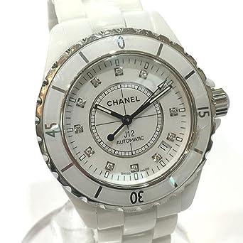 efbd8a400631 (シャネル) CHANEL H1629 J12 12Pダイヤ メンズ腕時計 腕時計 ホワイトセラミック メンズ 中古