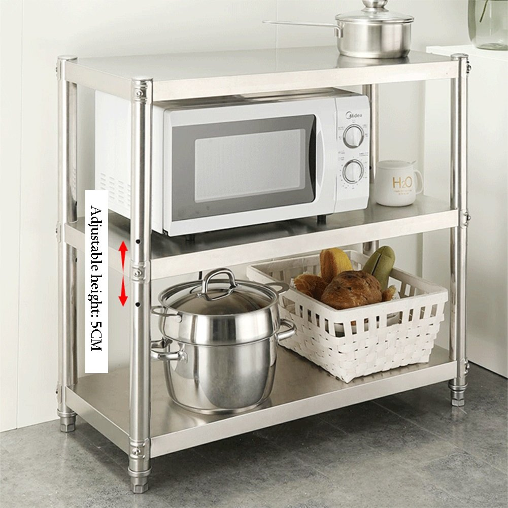 corner small spaces 3 tier kitchen