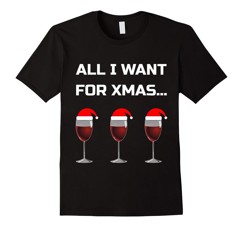 c0602889263 Christmas Wine Drinking T-Shirt - Funny Xmas Men Women Tee-ANZ ...