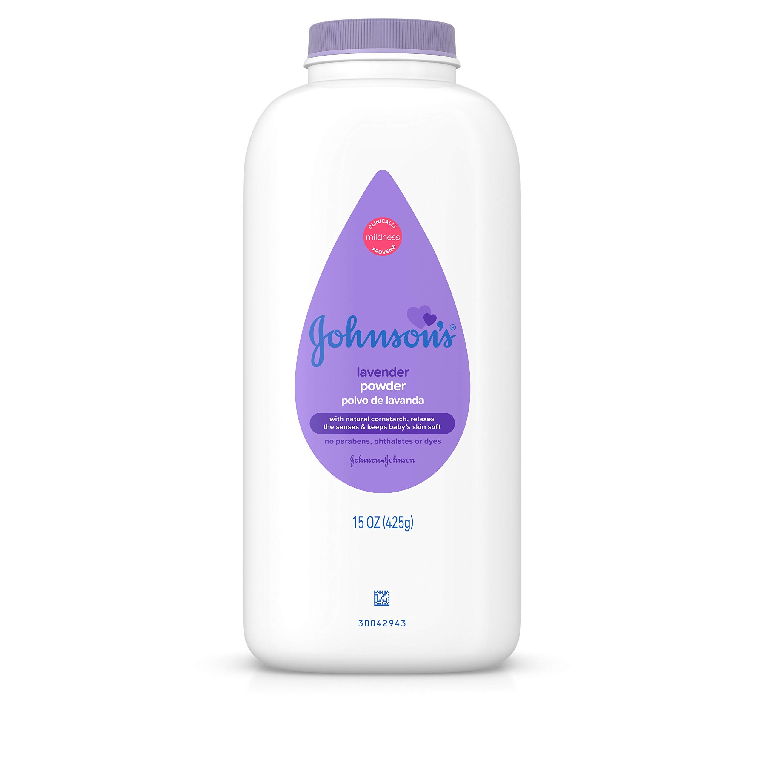 JOHNSON'S Baby Powder Calming Lavender 15 oz (Pack of 12) by Johnson's