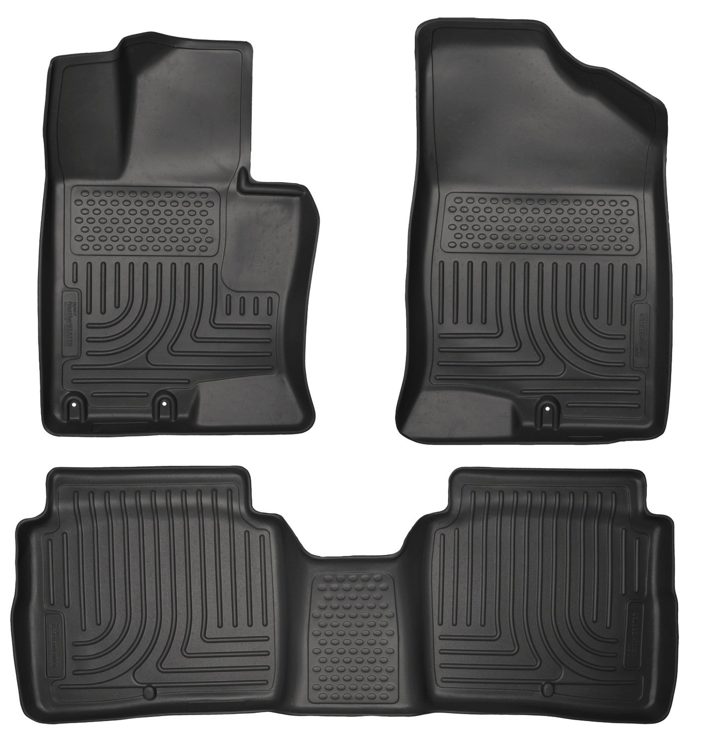 Floor mats kia - Amazon Com Husky Liners Front 2nd Seat Floor Liners Footwell Coverage Fits 11 15 Optima Automotive