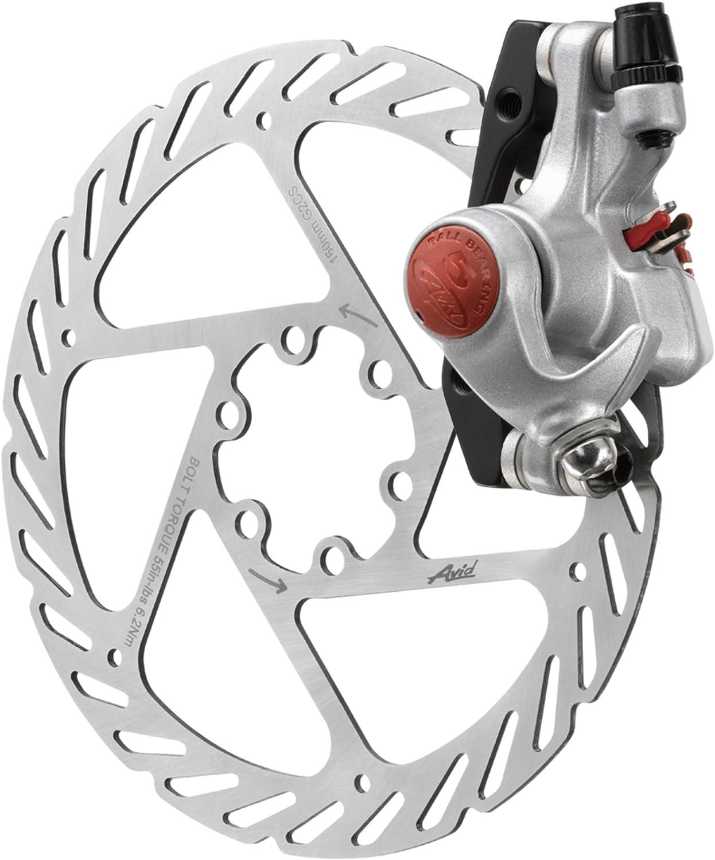 AVID BB7 MTB Bike Disc Brakes set Front /& Rear Calipers with 160mm HS1 Rotors