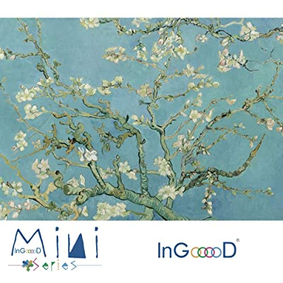 InGooooD -Mini Series-World Mini Jigsaw Puzzle 1000 Pieces Almond Blossom Paper Puzzle Toys for Adults and Kids: Toys & Games