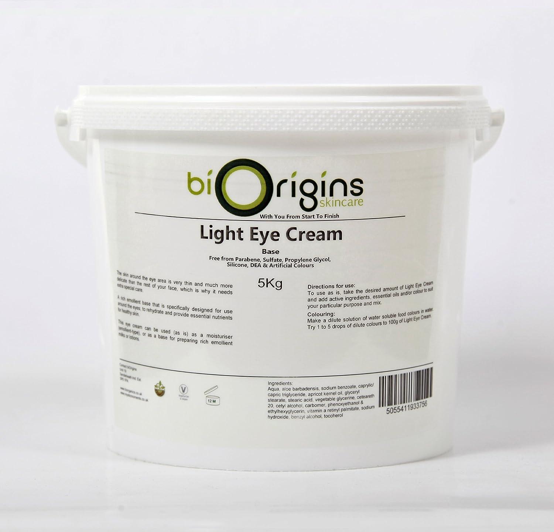 Light Eye Cream - Botanical Skincare Base - 5Kg B011I2G4R6
