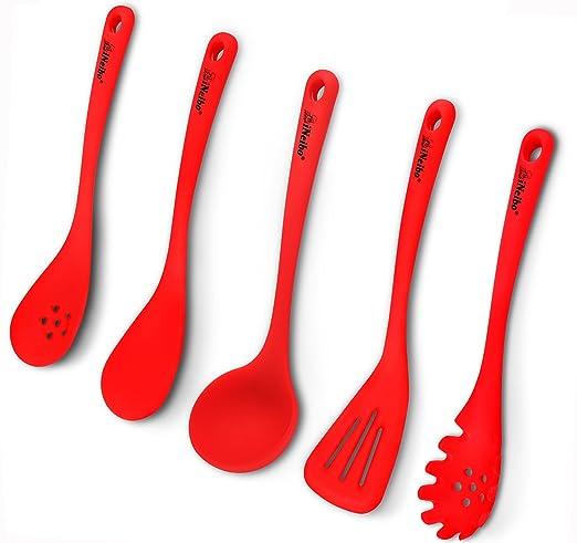 62 opinioni per iNeibo Kitchen mestoli cucina silicone professionali con manico lungo,