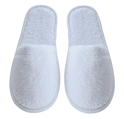 f9dc14f34143 Amazon.com  Arus Women s Turkish Organic Terry Cotton Cloth Spa Slippers  One Size Fits Most