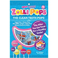 Zollipops Clean Teeth Pops, Anti Cavity Lollipops, Variety