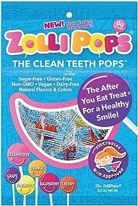 Clean Teeth Pops, Anti Cavity Lollipops