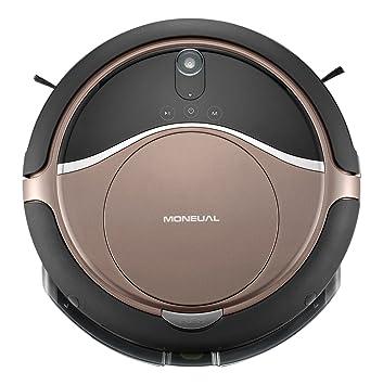 Moneual MR6803VM Robot Aspirador Híbrido ME770 Style Brown 0.6 litros, Marrón: Amazon.es: Hogar