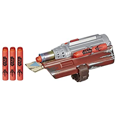 Star Wars NERF The Mandalorian Rocket Gauntlet, NERF Dart-Launching Toy for Kids Roleplay, Toys for Kids Ages 5 and Up: Toys & Games