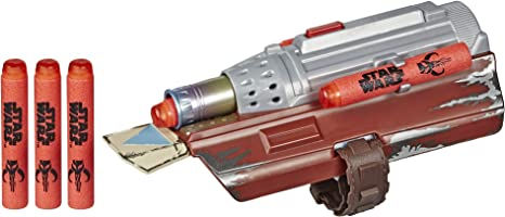Star Wars Nerf The Mandalorian Rocket Gauntlet Nerf Dart Launching Toy For Kids Roleplay Toys For Kids Ages 5 And Up Blasters Foam Play Amazon Canada