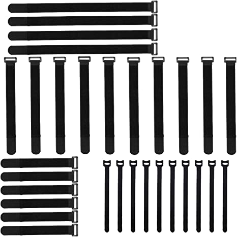 Pack of 4 x Self Adhesive Number 8 in Black