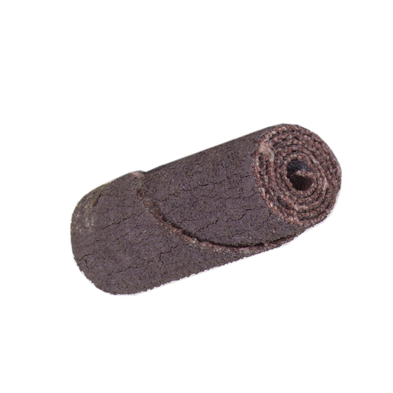 Merit Abrasive Cartridge Roll, Aluminum Oxide, 1/8\' Arbor, Roll 3/4\' Diameter x 1-1/2\' Length, Grit 120 (Pack of 100) 1/8 Arbor Roll 3/4 Diameter x 1-1/2 Length St Gobain Abrasives 08834180487