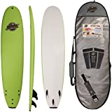 8'8 Beginner Foam Surfboard - Premium Soft Top