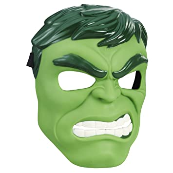 Marvel Hulk Hero Mask Toys, Classic Design, Inspired by Avengers Endgame, for Kids Ages 5 and Up