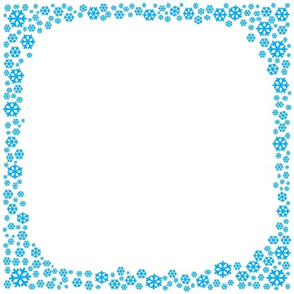 amazon com blue snowflake stationery printer paper 26 sheets
