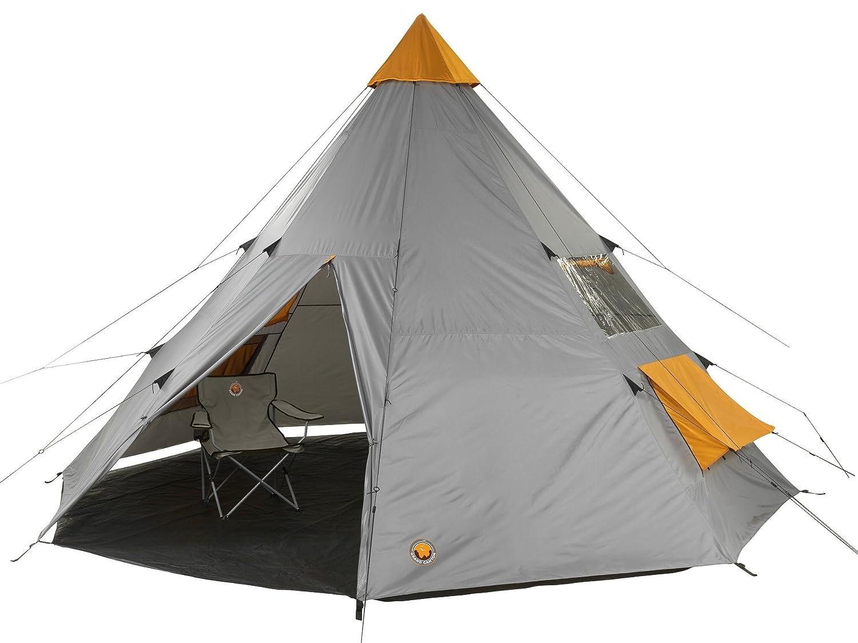 Grand Canyon Tepee - Tipi / Indiana Zelt, für 8-Personen, 8-Personen, für für Gruppen, Camping, Outdoor, Abenteuer, Glamping, in verschiedenen farben, Ø 500 cm d4b072