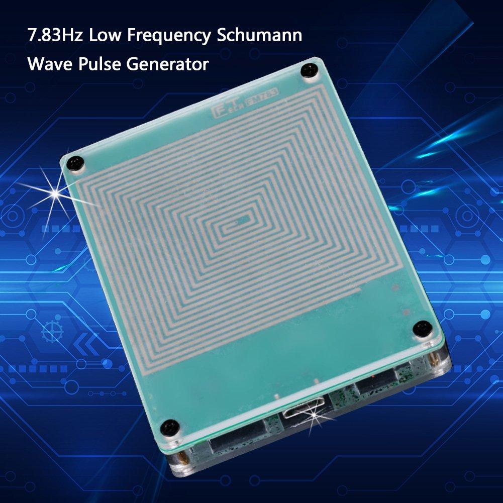 Generador de pulso Fydun 1 PCS 7.83Hz Generador de pulso de onda Schumann de frecuencia ultrabaja con interruptor