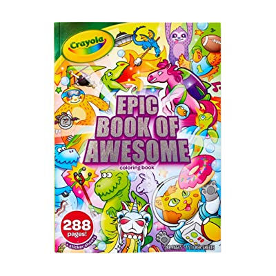 durable modeling Crayola Epic Book of Awesome, All-in-One