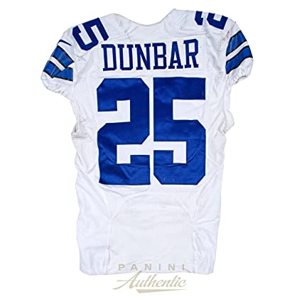 Nice Lance Dunbar Game Worn Dallas Cowboys Jersey From 9112016 vs the  free shipping