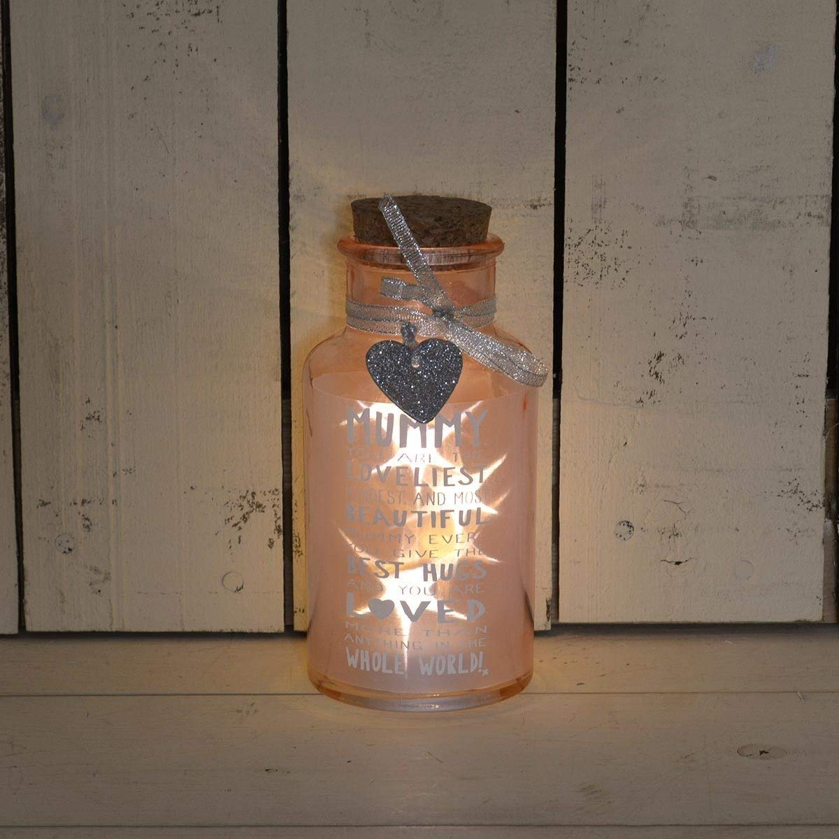 Loveliest Mummy Light Up Jar Messages Of Love Gift Range Birthday Christmas Gifts xpressions