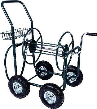 Karmas Hose Reel Cart with 4 Wheels
