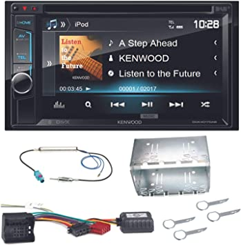 Kenwood DDX-470 de 4017dab Moniceiver con DAB + USB DVD MP3 AUX y ...