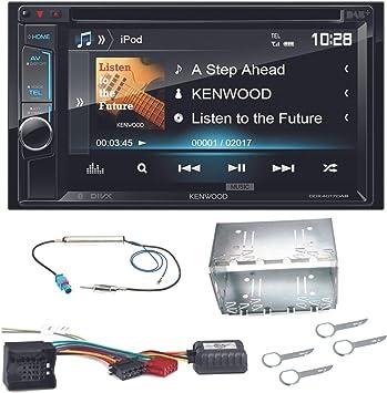 Kenwood DDX-470 de 4017dab Moniceiver con DAB + USB DVD MP3 AUX y ...