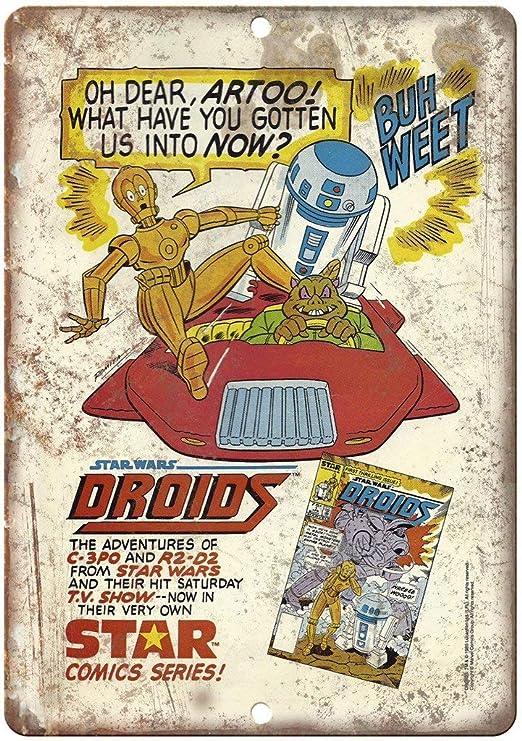 HALEY GAINES Star Wars Droids Star Comic Series Book Placa ...