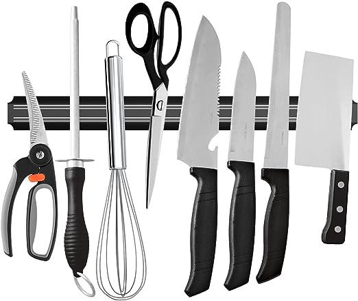 Ouddy 22 Inch Magnetic Knife Holder, Magnetic Knife Strip Bar Rack,  Multipurpose Kitchen Knife Magnet for Home Tool Organization