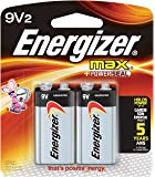 Energizer 9V Alkaline General Purpose Battery - Alkaline - 9V DC - 2 pack