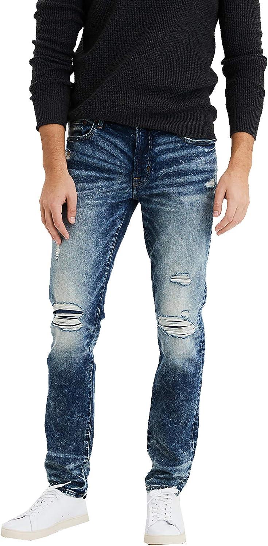 American Eagle  Slim Distressed Men/'s Jeans 100/% Cotton NEW