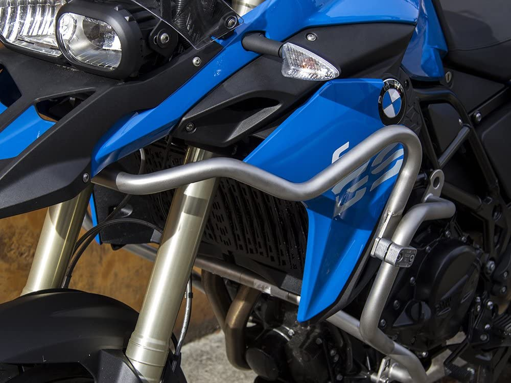 - Triple Black 2008-2012 Grey AltRider F809-6-1001 Upper Crash Bars Assembly for the BMW F 800 GS