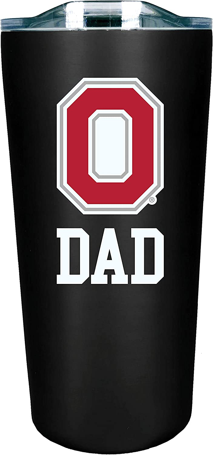 Black Design-3 The Fanatic Group Purdue Double Walled Soft Touch Tumbler