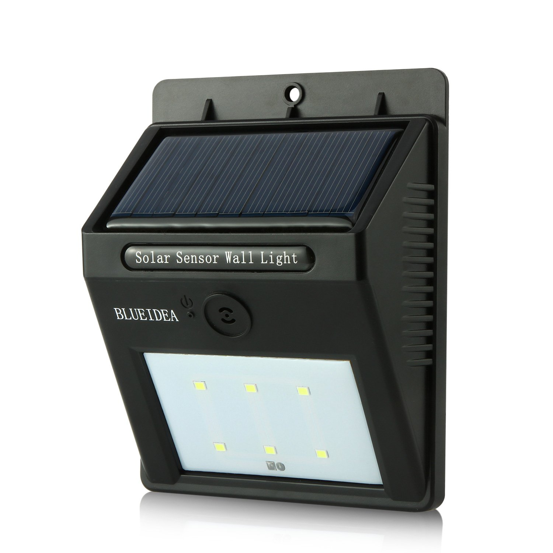 Blueidea Bright Outdoor Led Light Solar Powered Sound Sensor Detector Activat.. 16