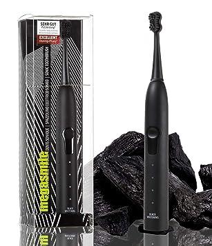 megasmile 100-220 cepillo eléctrico para dientes Adulto Cepillo dental sónico Negro - Cepillo de dientes eléctrico (1 pieza(s), 1 pieza(s)): Amazon.es: ...