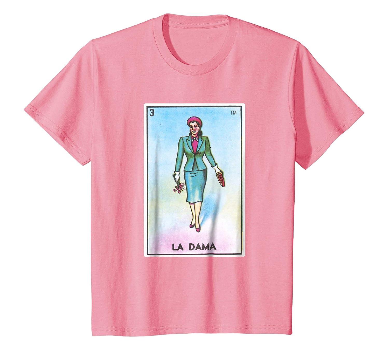 La Dama Loteria T-Shirt Classy Lady Mexican Shirt La Loteria La Chalupa La Sirena Latina Bingo Custom Personalizesd Reunion