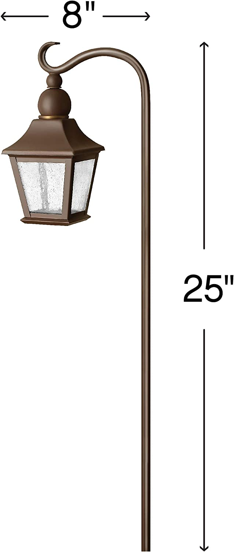 18 Watt T5 Wedge Base Light Bulb Copper Bronze Hinkley Lighting 1555CB Bratenahl Path Light