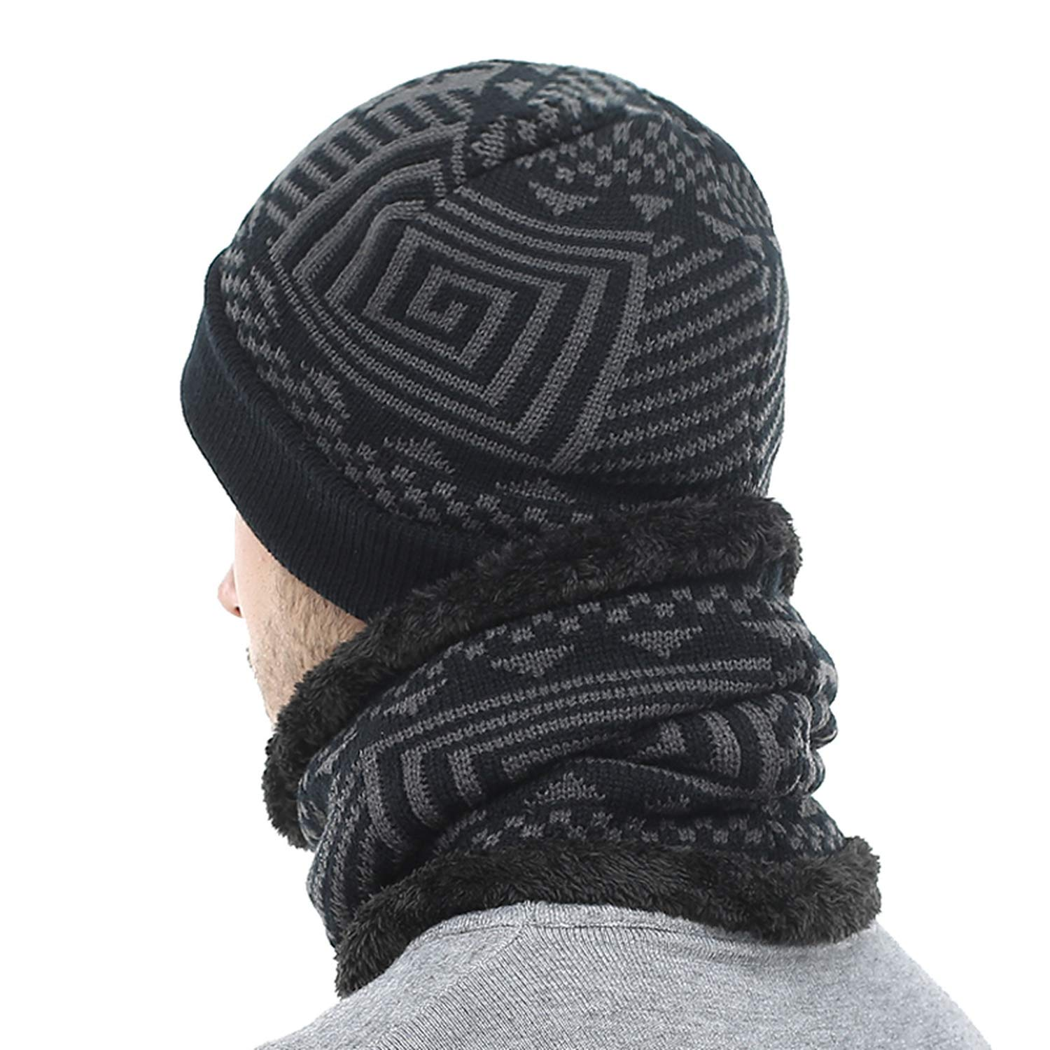 Skullies Beanies Winter Knitted Hat Beanie Scarf Men Winter Hats for Men Women Caps Gorras Bonnet