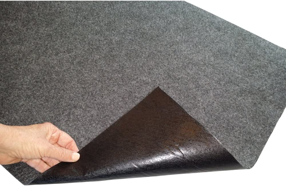 CleanUp Stuff Garage Mat Garage Floor Mats for Under Cars - Better Than Oil Drip Pan - Super Absorbent for Maximum Oil Spill Protection - Extra Thick and Large (3 x 8 Feet), Garage Accessories