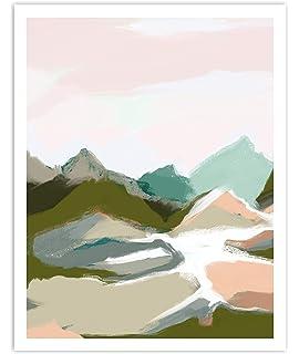 Sam Toft Love On A Mountain Top Canvas Print 30x40x3.8cm