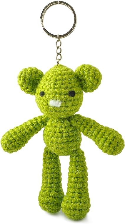 Teddy bear keychain, Crochet bear amigurumi, Mini bears bag charms ... | 757x425
