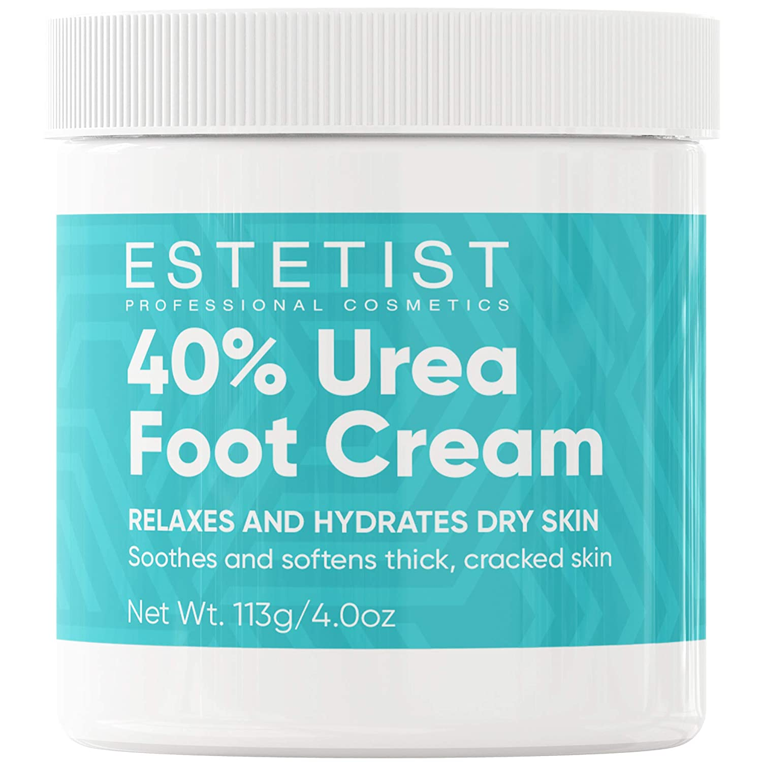 Urea Foot Cream 40%, Foot Lotion For Dry Cracked Feet, Moisturizer For Dry Skin