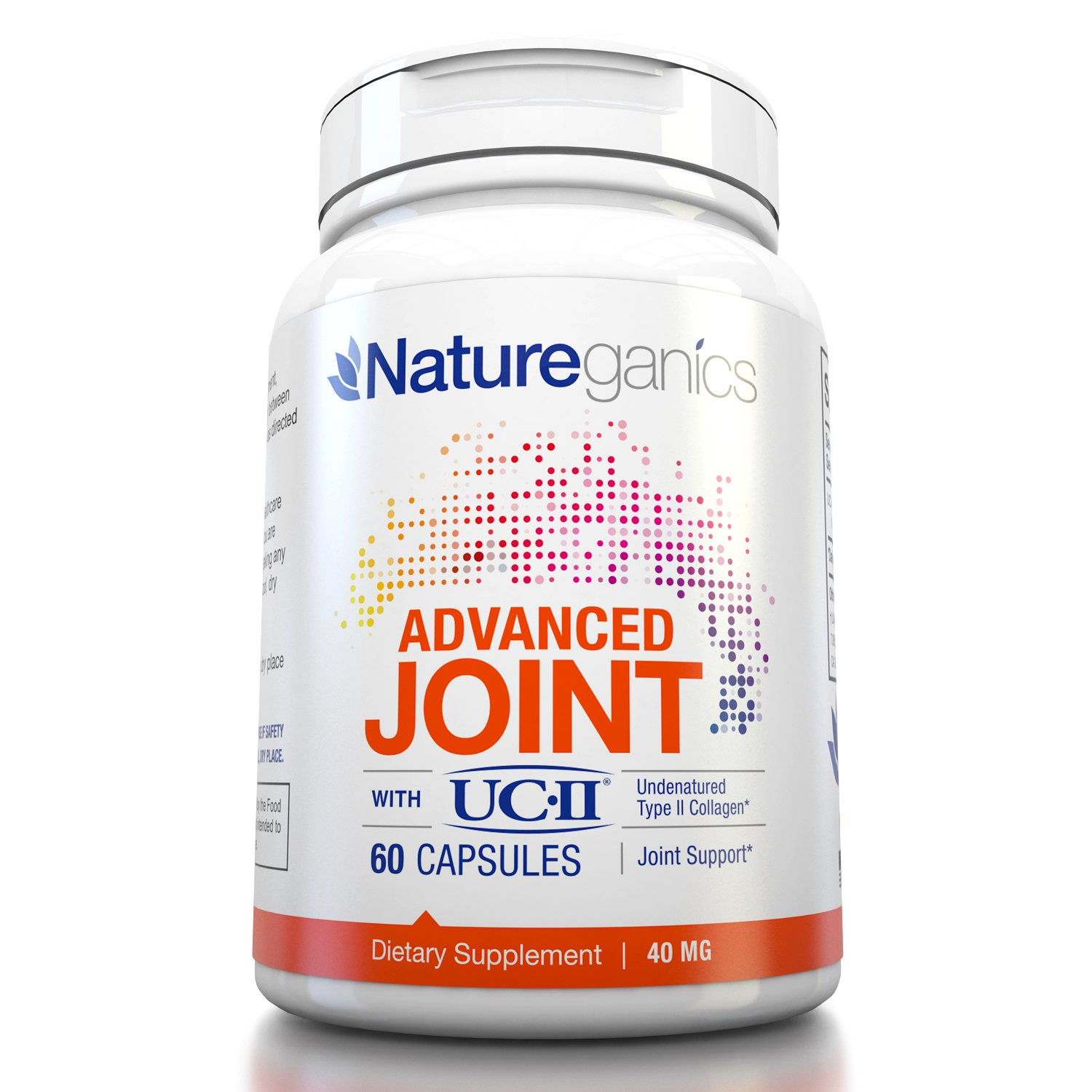 Natureganics Pure Uc Ii Collagen 40mg Joint Formula Flex Formulated To Promote Healthy Joints Extreme Health Personal Care