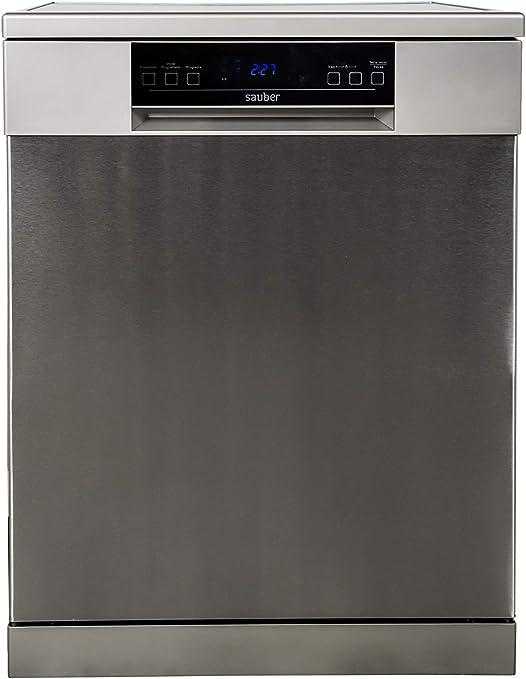 Sauber - Lavavajillas 60cm SDW61 A++ 15 cubiertos - Color Blanco ...
