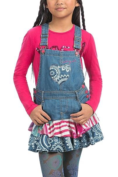 Desigual - Vestido - Floral - para niña Los Pantalones ...