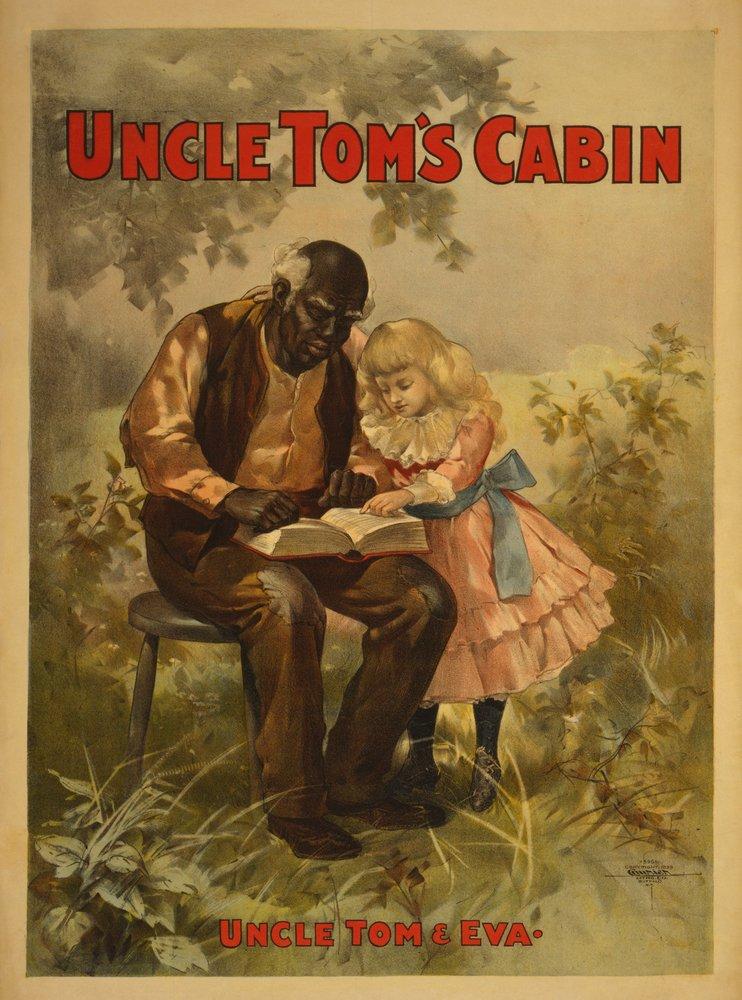 Uncle Tom 's CabinブラックMan and Girl Theatreポスター 36 x 54 Giclee Print LANT-4256-36x54 B01MG3ETUF  36 x 54 Giclee Print