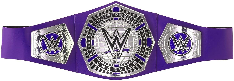 WWE Cruiserweight Championship Belt, Frustration-Free Packaging [ Exclusive] Mattel GCW72